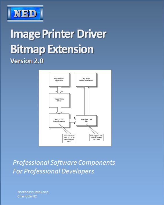 Ned Image Printer Driver Bitmap Output extension