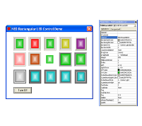 Rectangular LED ActiveX control Source Code