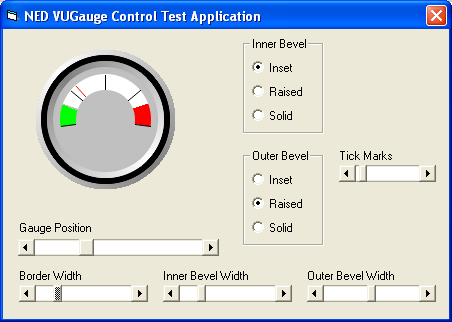 VUGauge ActiveX Control Source Code