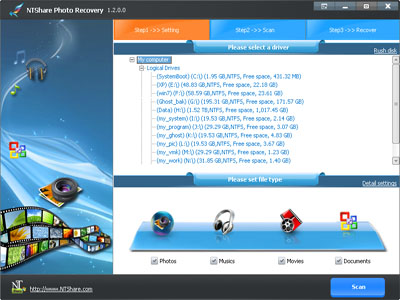 NTShare Photo Recovery(5PC)