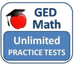 Unlimited GED Math Practice Tests