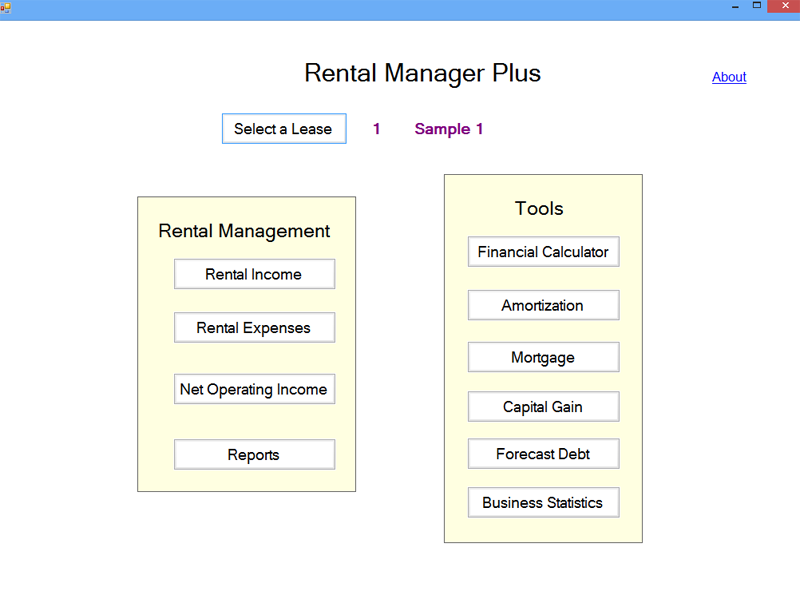 Rental Manager Plus