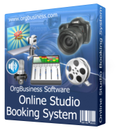 Online Studio Booking System - Month Subscription