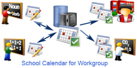 School Calendar for Workgroup