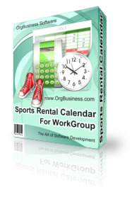 Sports Rental Calendar for Workgroup