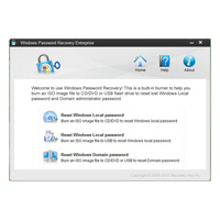 Windows Password Recovery Enterprise for 1 PC
