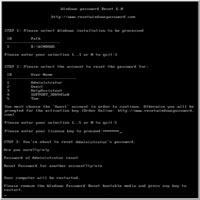 Windows Password Recovery Professional for 10 PCs