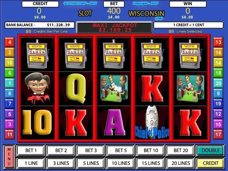 Slot Factory: Slot Wisconsin