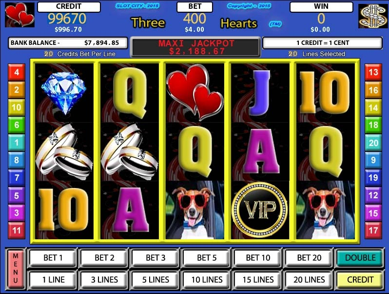 Slot Factory: Three Hearts