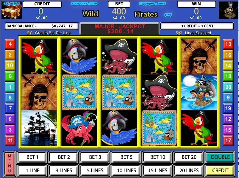 Slot Factory: Wild Pirates