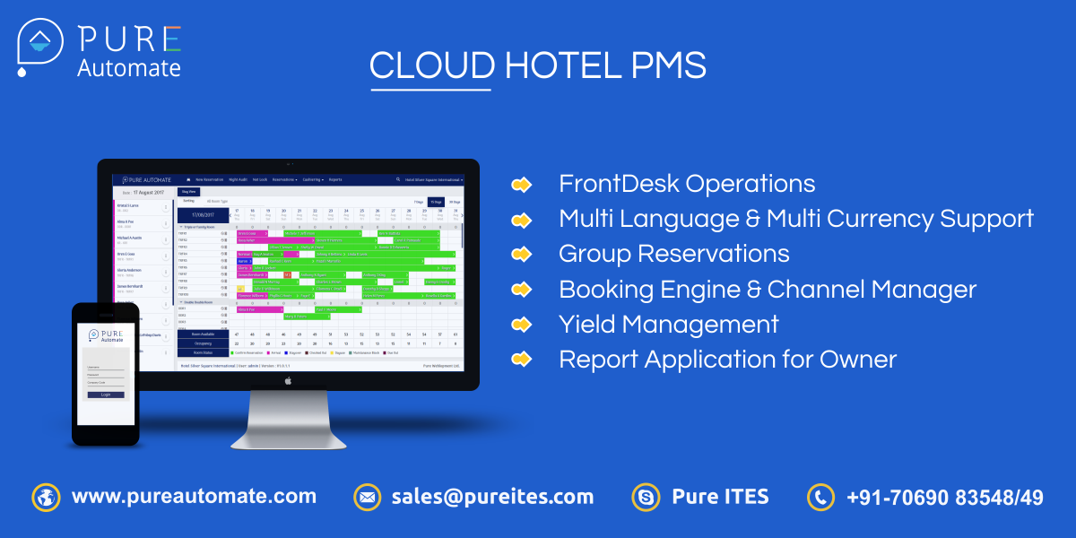 Pure Automate - Hotel Management Software