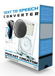 Text to Speech Converter w/ Resell Rights