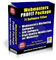 Webmasters Profit Package with Resell Rights