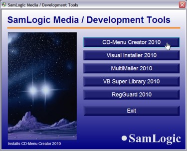 SamLogic CD-Menu Creator 2014 + 1 Year Maintenance