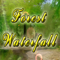 Forest Waterfall 3D