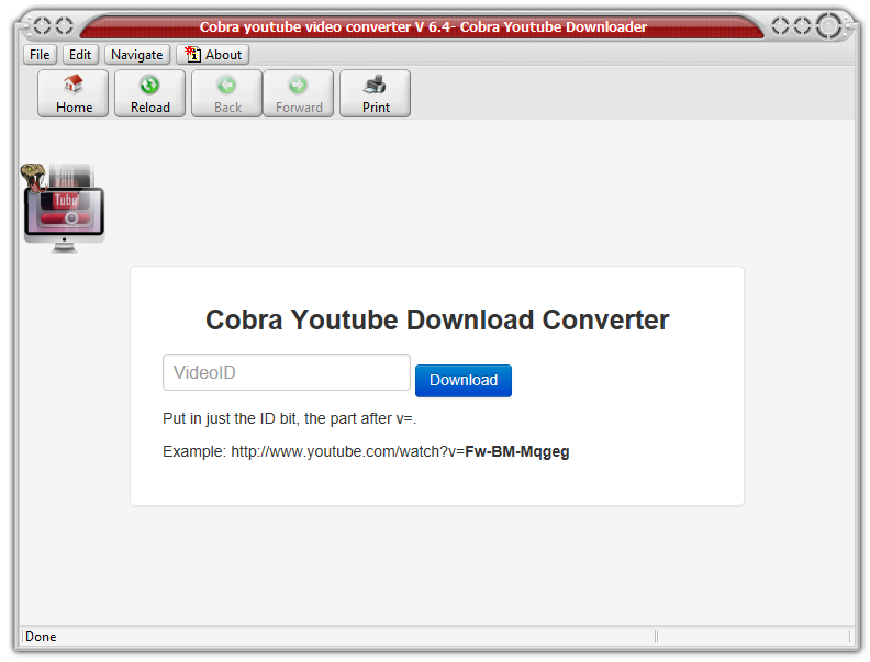 Cobra Youtube Video Converter