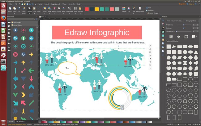Edraw Infographic Perpetual License