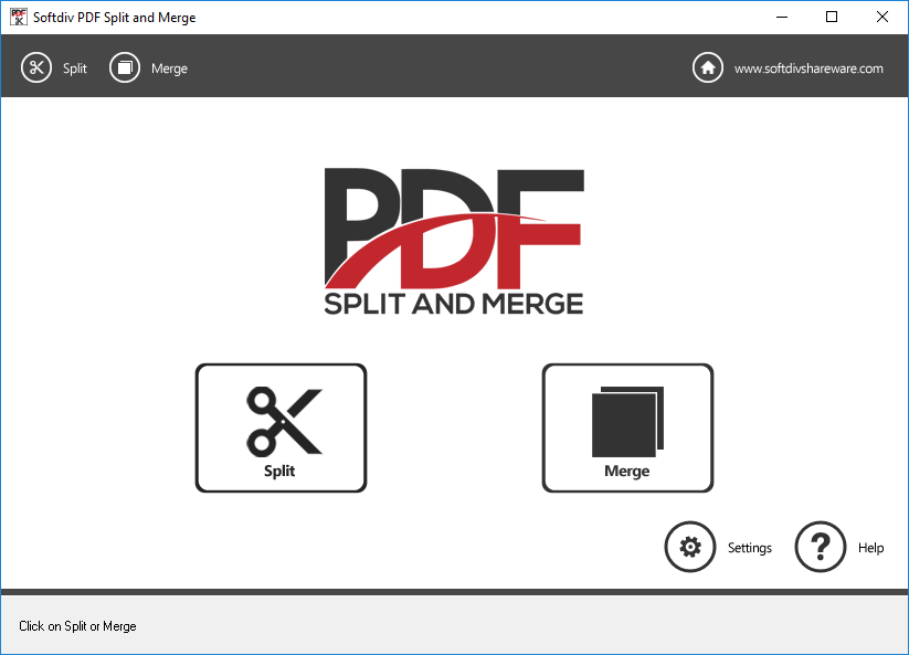 Softdiv PDF Split and Merge