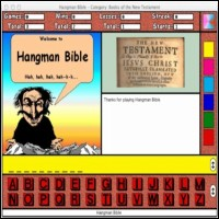 Hangman Bible for the Macintosh