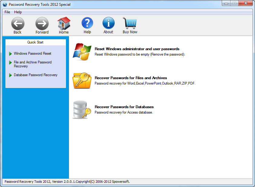 Password Recovery Tools 2012 Special