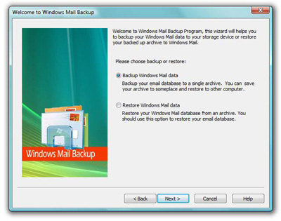 Outlook Express Backup Plus