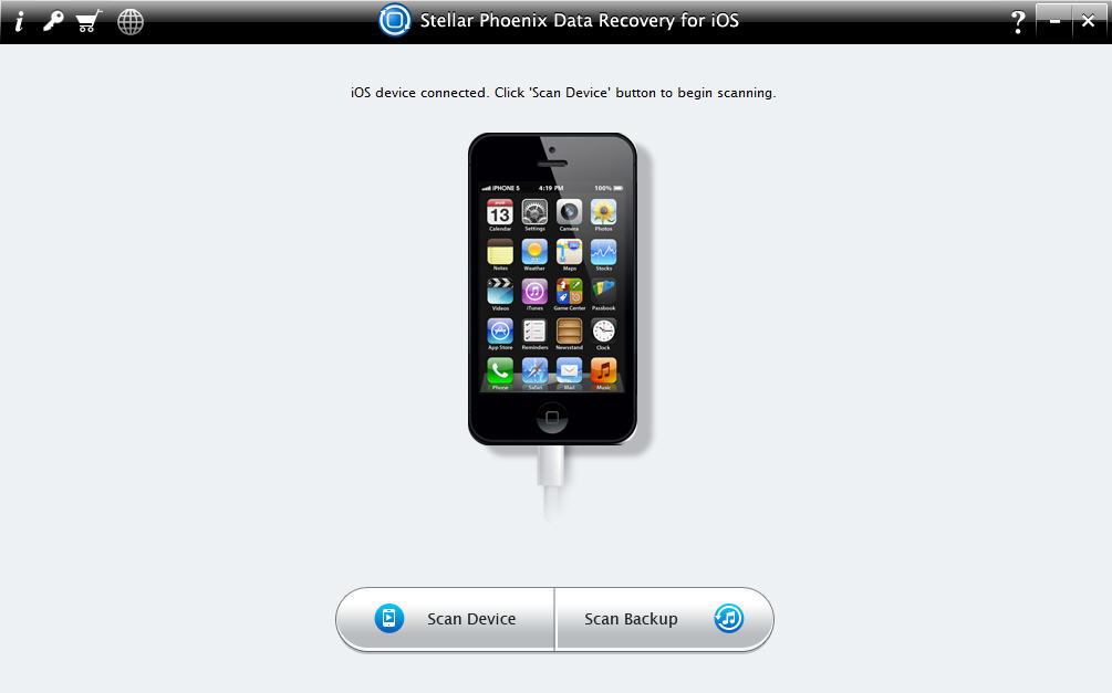 Stellar Phoenix Data Recovery for iOS