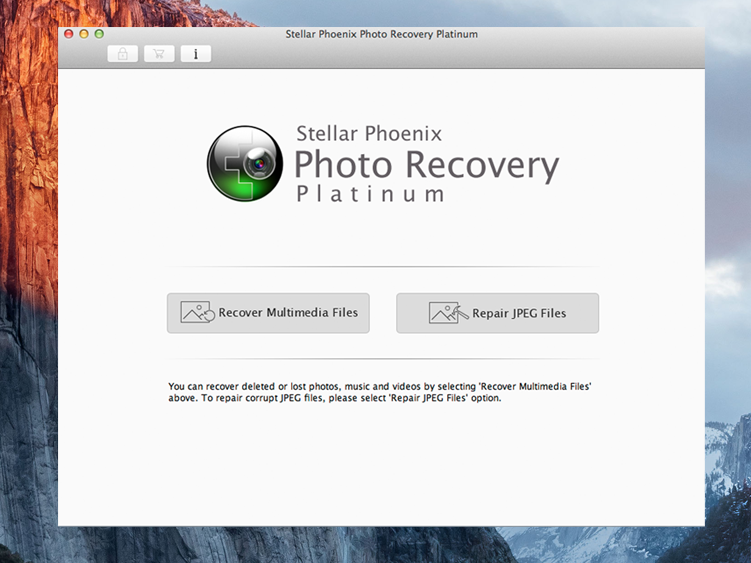 Stellar Phoenix Photo Recovery Platinum Mac
