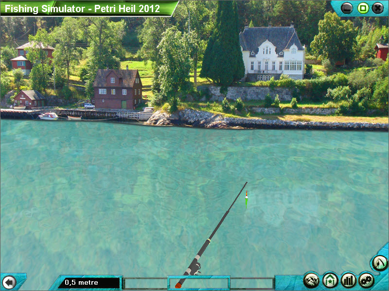 Fishing Simulator 2012 - Petri Heil