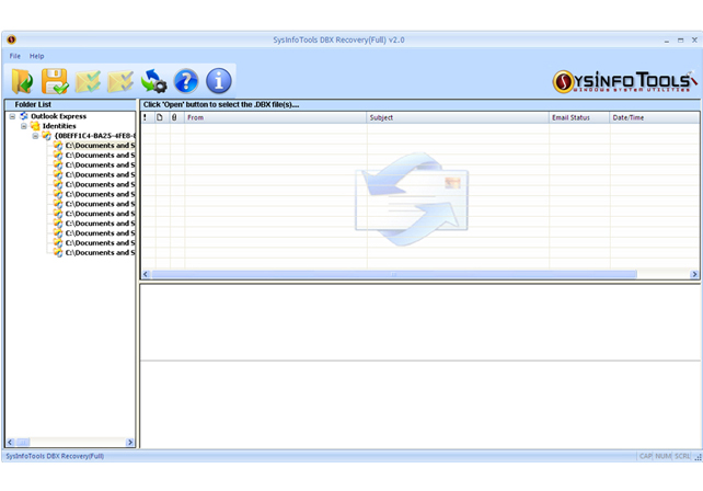 SysInfoTools DBX Recovery