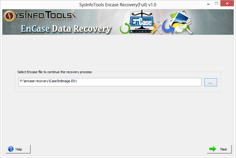SysInfoTools EnCase Recovery