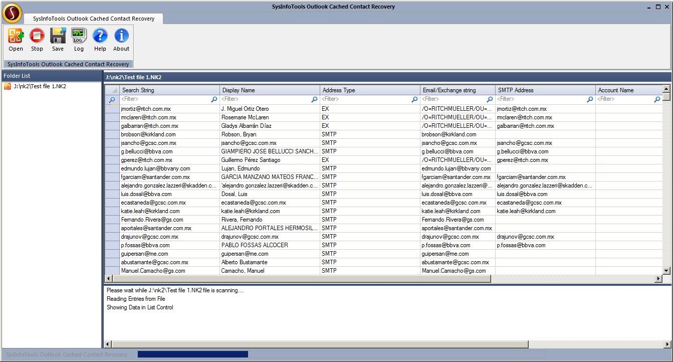 SysInfoTools NK2 File Recovery