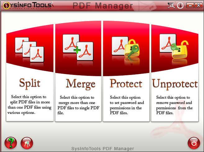 SysInfoTools PDF Manager