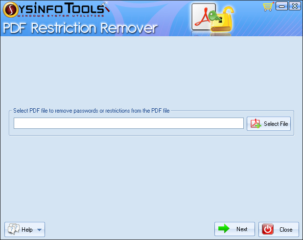 SysInfoTools PDF Protection Remover