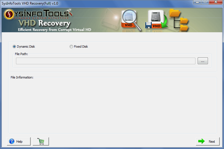 SysInfoTools VHD Recovery