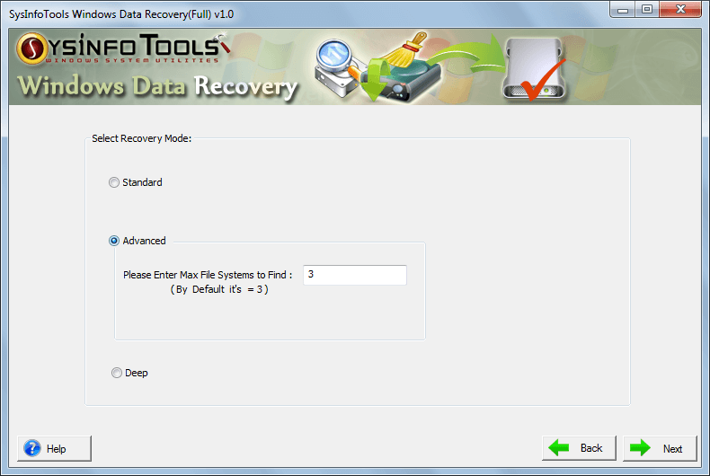 SysInfoTools Windows Data Recovery