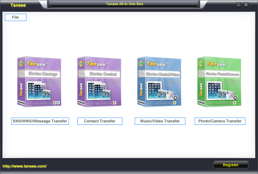 Tansee All in One Box (Windows) 1 year License