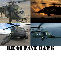 HH-60 Pave Hawk Helicopter Screensaver