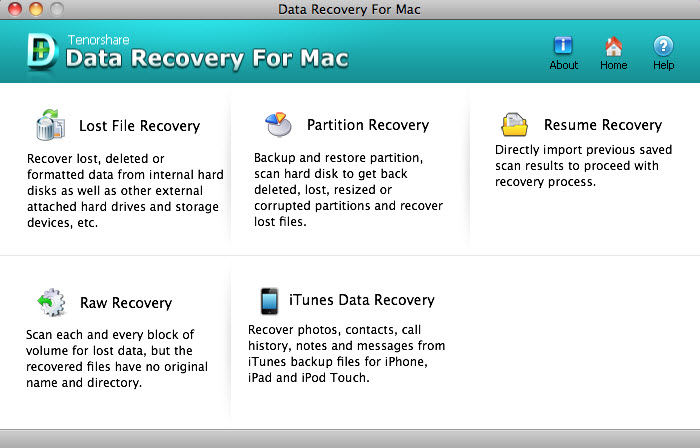 Tenorshare Any Data Recovery for Mac - Family Pack/2-5 PCs