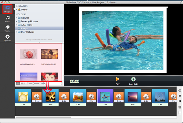 Slideshow DVD Creator for Mac