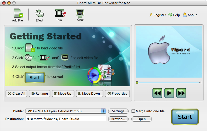Tipard All Music Converter for Mac Lifetime
