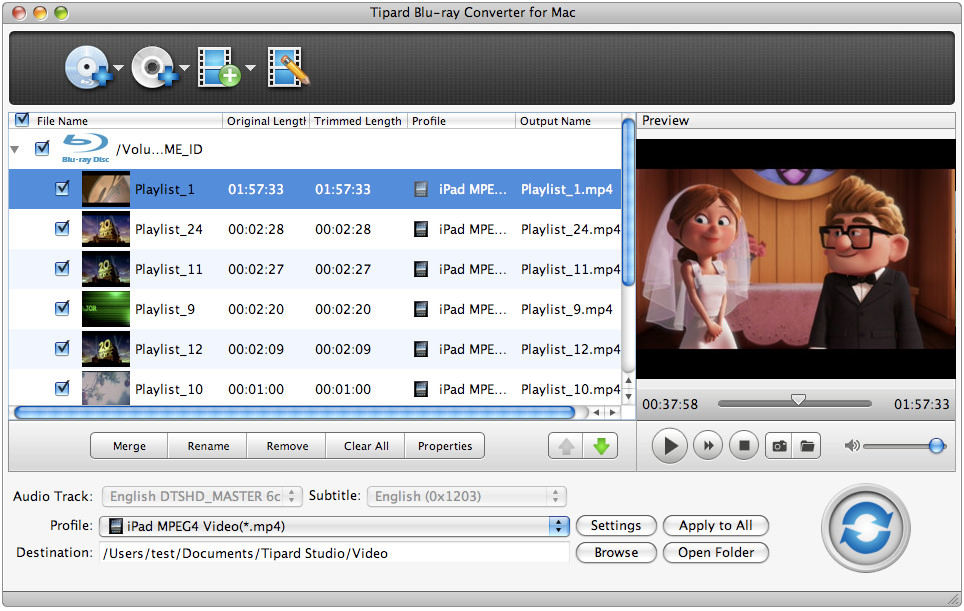 Tipard Blu-ray Converter for Mac One Year License