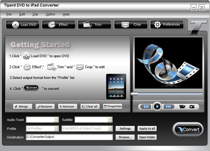 Tipard DVD to iPad Converter Lifetime License