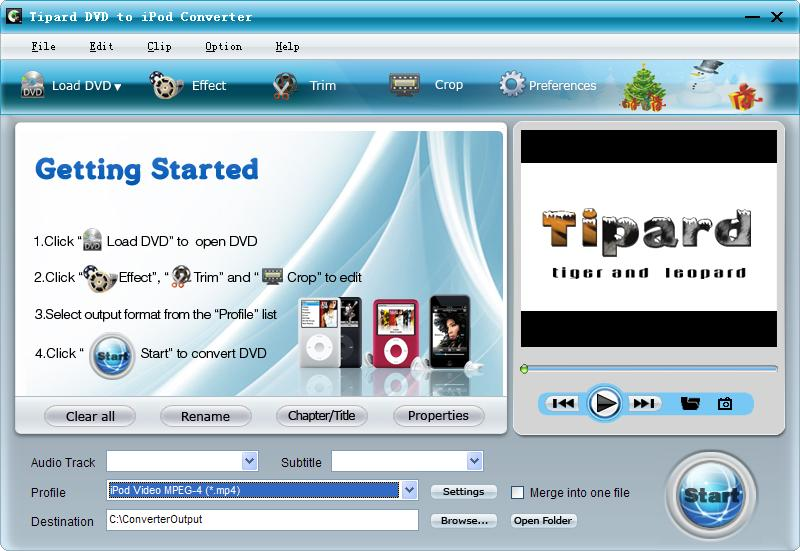 Tipard DVD to iPod Converter Lifetime License