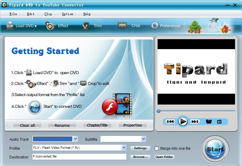 Tipard DVD to YouTube Converter