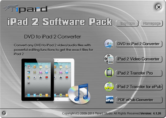 Tipard iPad 2 Software Pack