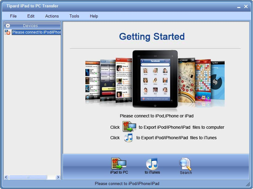 Tipard iPad to PC Transfer Lifetime License