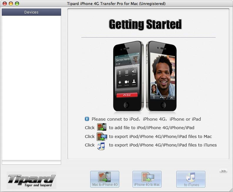 Tipard iPhone 4 Transfer Pro for Mac