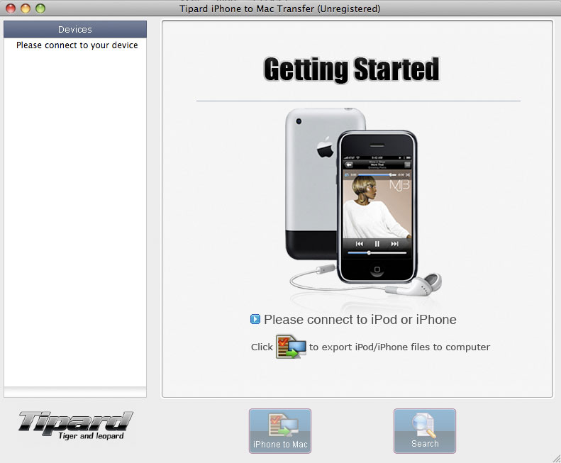 Tipard iPhone to Mac Transfer Lifetime License