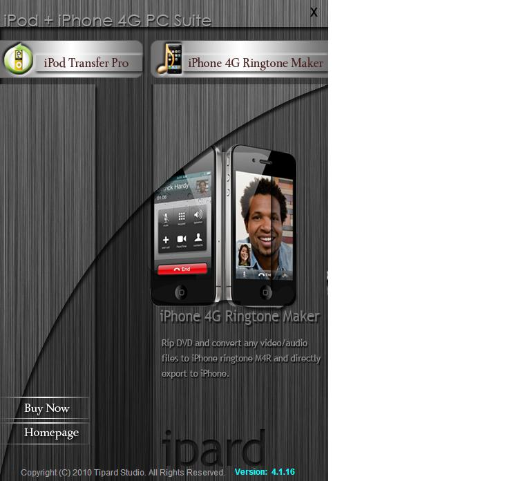 Tipard iPod + iPhone 4 PC Suite