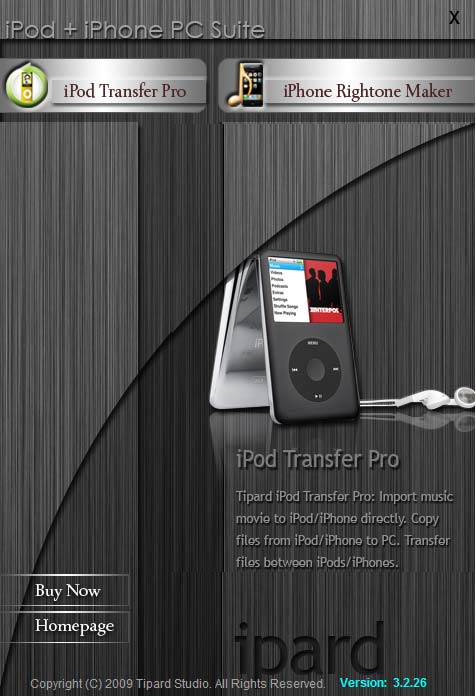 Tipard iPod + iPhone PC Suite